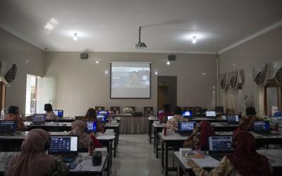 SMANDA Lakukan Supervisi SKS Secara Virtual  Guna Mewujudkan Pelayanan Terbaik yang Kreatif dan Inovatif