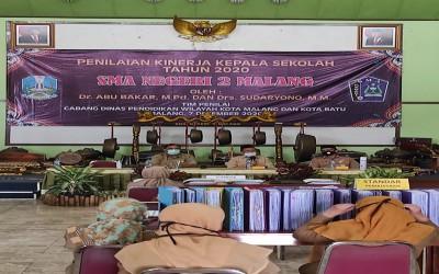 Penilaian Kinerja Kepala Sekolah (PKKS) Tahun 2020 SMAN 2 Malang