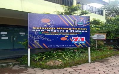 Dirgahayu ke-71 SMAN 2 Malang