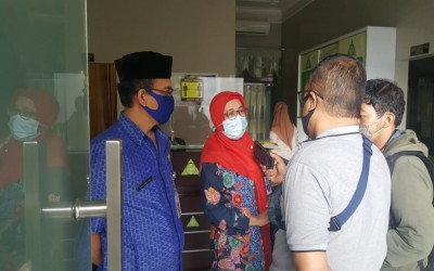 Kunjungan dari Kepala Cabang Dinas Pendidikan untuk Memantau Kesiapan Pembelajaran Luring